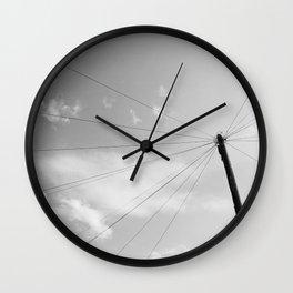 Power Pole Wall Clock