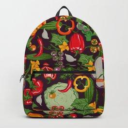 Vegetable Farm Pattern Backpack