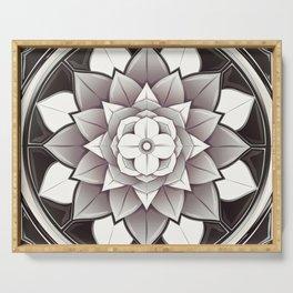 Pure Mandala Serving Tray