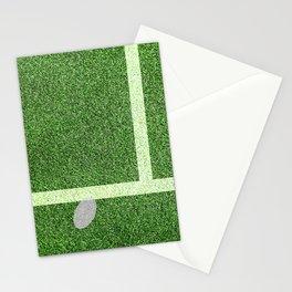 """""""IN"""" – Hawk-Eye - green Stationery Cards"""