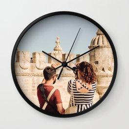 Le voyage du canard Wall Clock