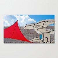 cloud Canvas Prints featuring cloud by Sébastien BOUVIER