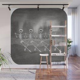 Dancing skeletons I Wall Mural