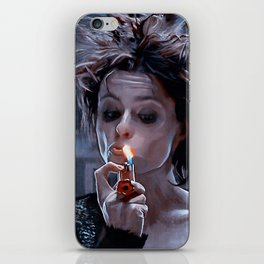Marla Singer Smokes A Cigarette During Group Therapy - Fight iPhone Skin