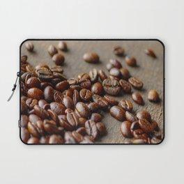Fresh Coffee on the wood Laptop Sleeve