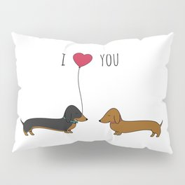 DACHSHUND LOVE Pillow Sham