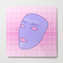 Masks I Metal Print