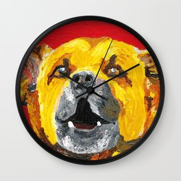 bus stop barker Wall Clock