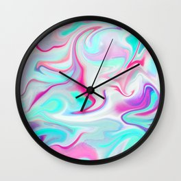 Liquid 3 Wall Clock