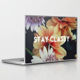 STAY CLASSY Laptop & iPad Skin