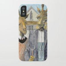 American Giraffic iPhone X Slim Case