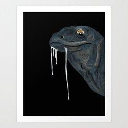 Drool Art Print