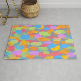 Dancing Dabs of Color! Rug