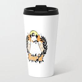 Bear'd - Orange Travel Mug