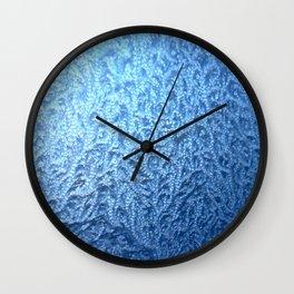 ice pattern 2 Wall Clock