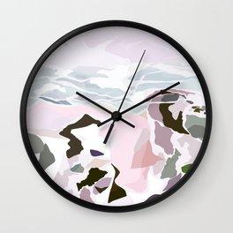water's edge Wall Clock