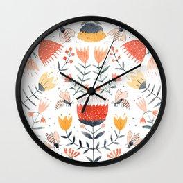 Bee Well Wall Clock