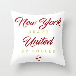 New York Bravo Throw Pillow