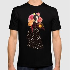 a rose by any other name Black Mens Fitted Tee MEDIUM