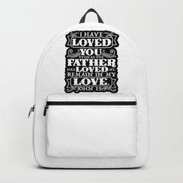 John 15:9 Backpack