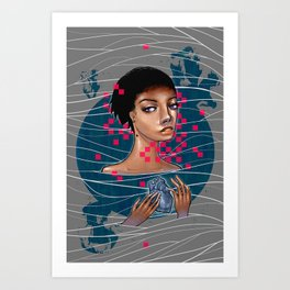 cold as heart Art Print