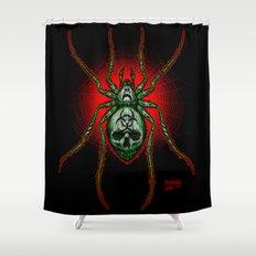 Arachnazrael Shower Curtain