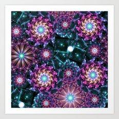 Colorful Universe Art Print