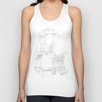 ampersand Tank Tops featuring AMPersand by Jorge Garza