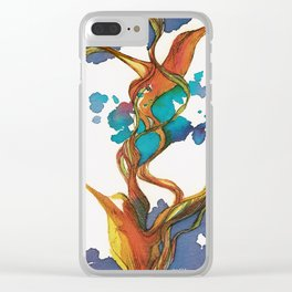 Vuelo de colibrí. 1 Clear iPhone Case