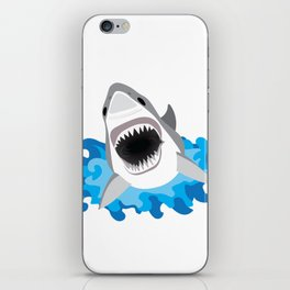 Shark Attack #2 iPhone Skin