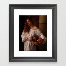 The Bakers Wife Framed Art Print