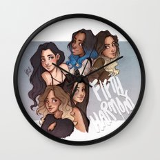 miss movin' on Wall Clock