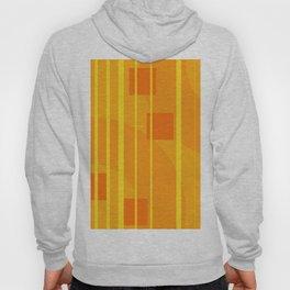 Stripes - Geometry Design Yellow Hoody