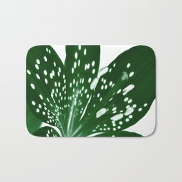 Lily Infrared In Green Bath Mat
