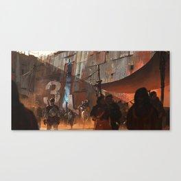 Gate 3 Canvas Print