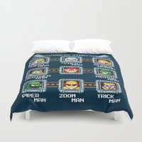 rogue Duvet Covers featuring Rogue Masters by thom2maro