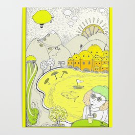 Lemon paradise Poster