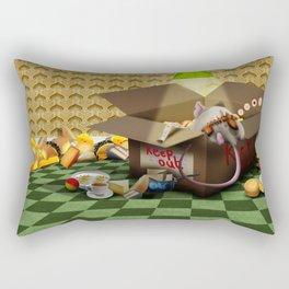 Oook builds a sofa Rectangular Pillow