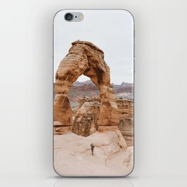 Early Morning at Delicate Arch iPhone Skin