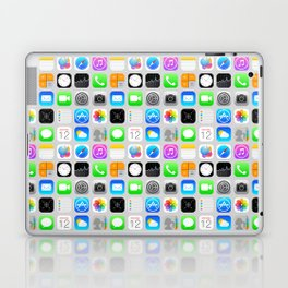 Phone Apps (Flat design) Laptop & iPad Skin