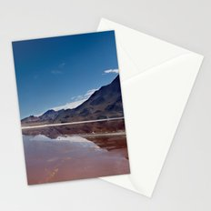 Natural mirror Stationery Cards