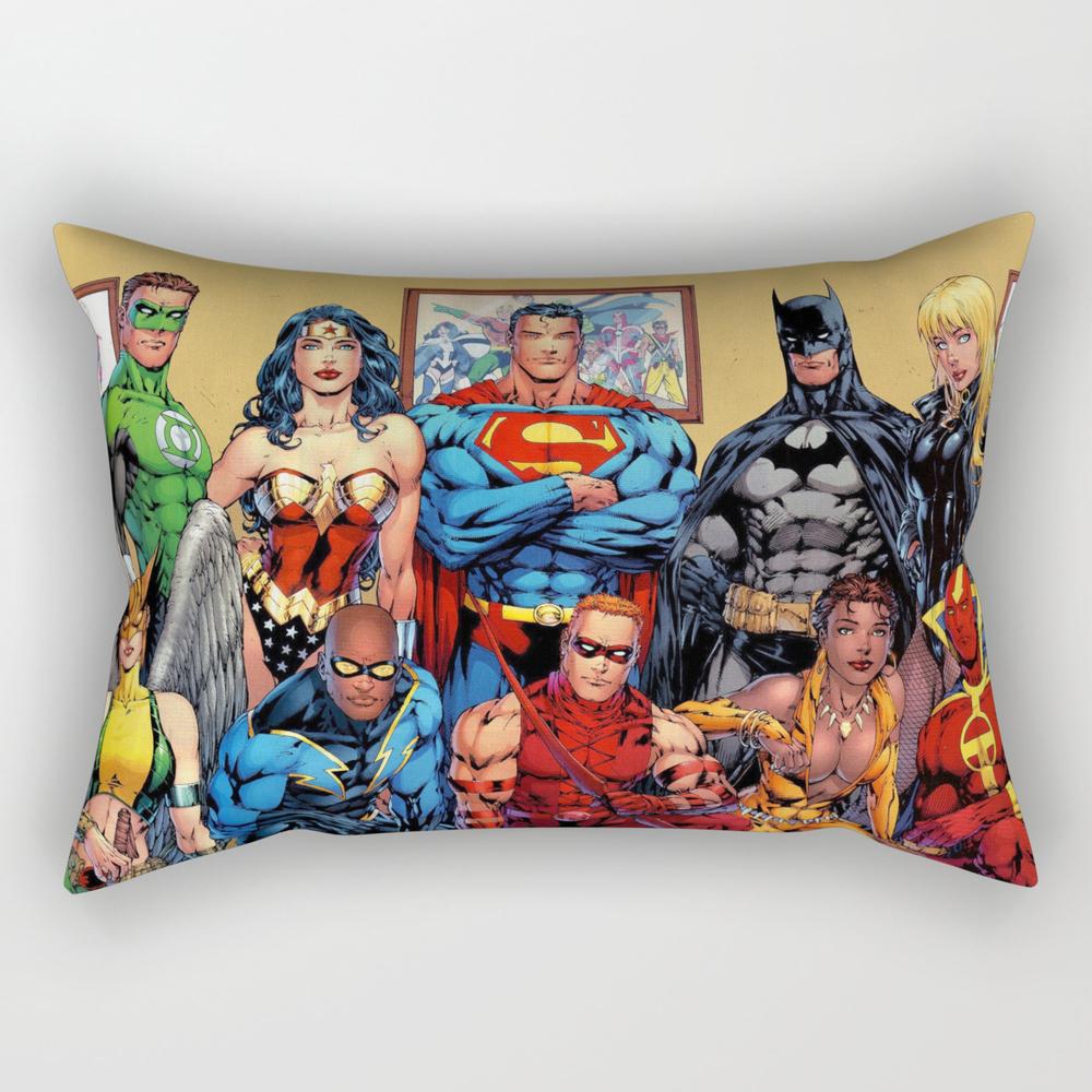 Superman Green Lantern Comic Rectangular Pillow RPW4115440
