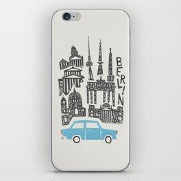 Berlin Cityscape iPhone Skin