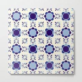 Portuense Tile Metal Print