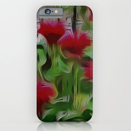 Fanciful Scarlet. Red Balm iPhone Case