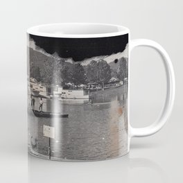 Launching the Boats Coffee Mug