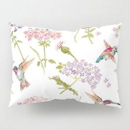 Hummingbird floral Pillow Sham