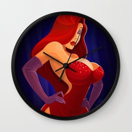 Jessica Rabbit Wall Clock