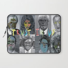 Trust in us Laptop Sleeve