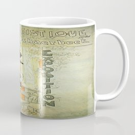 Vintage poster - French Exposition Coffee Mug